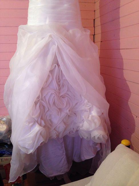 Aqui la va foto de vestido de novia que vendoo - 7