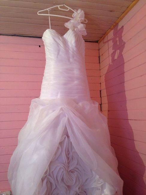 Aqui la va foto de vestido de novia que vendoo - 9