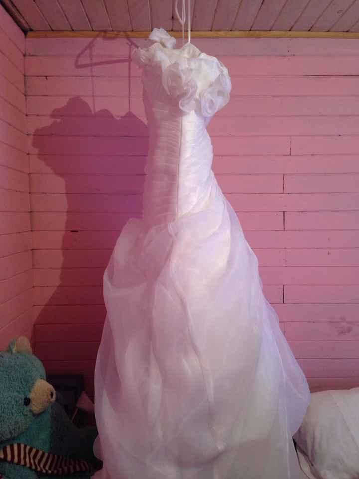 Aqui la va foto de vestido de novia que vendoo - 1
