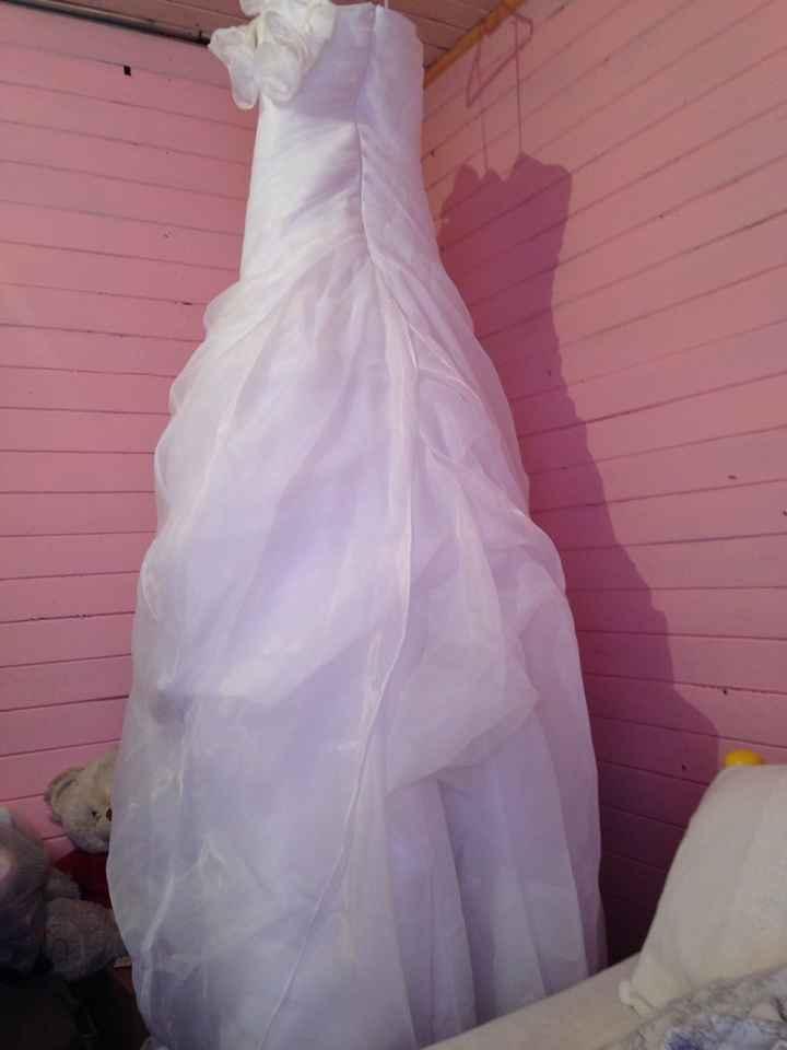 Aqui la va foto de vestido de novia que vendoo - 2
