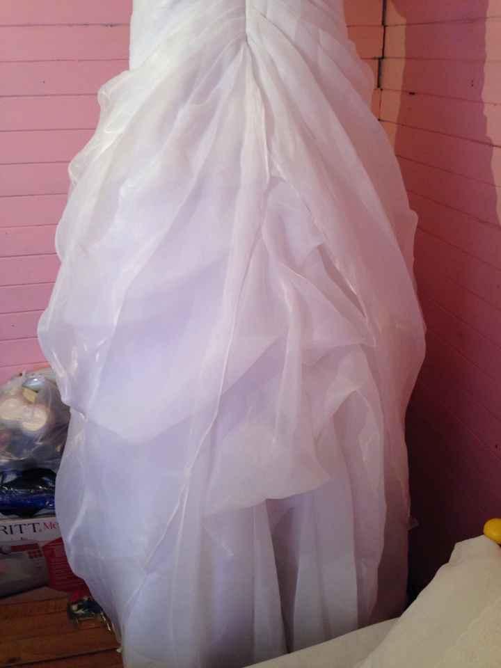 Aqui la va foto de vestido de novia que vendoo - 3