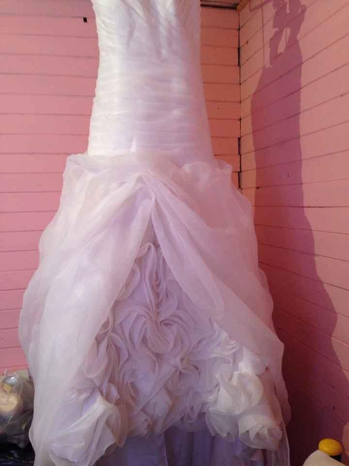 Aqui la va foto de vestido de novia que vendoo - 8