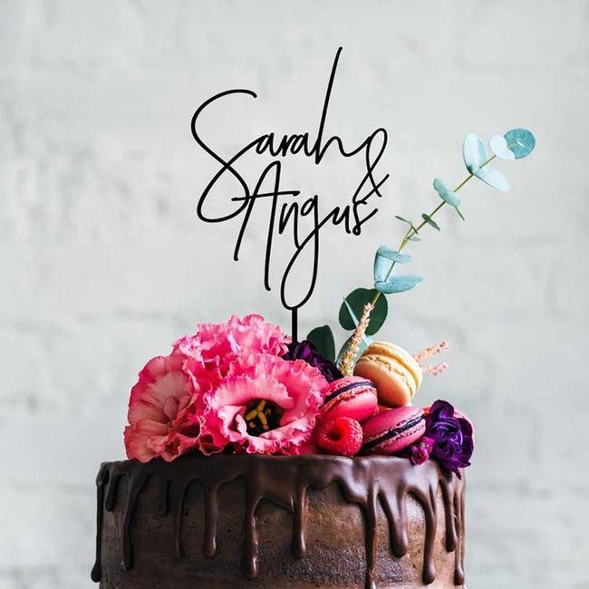 Estos CAKE TOPPER: ¿Te encanta o pasas? ❤️😒 5