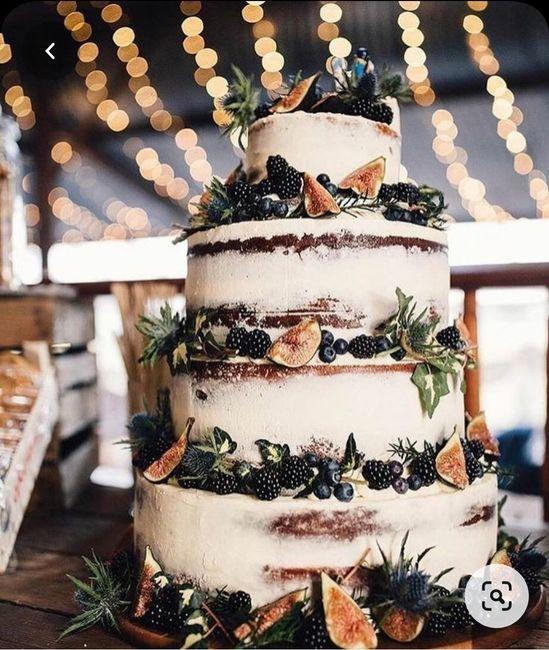 Torta nupcial: ¿Sencilla o con todo? 7