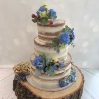 Tortas en color Azul 8