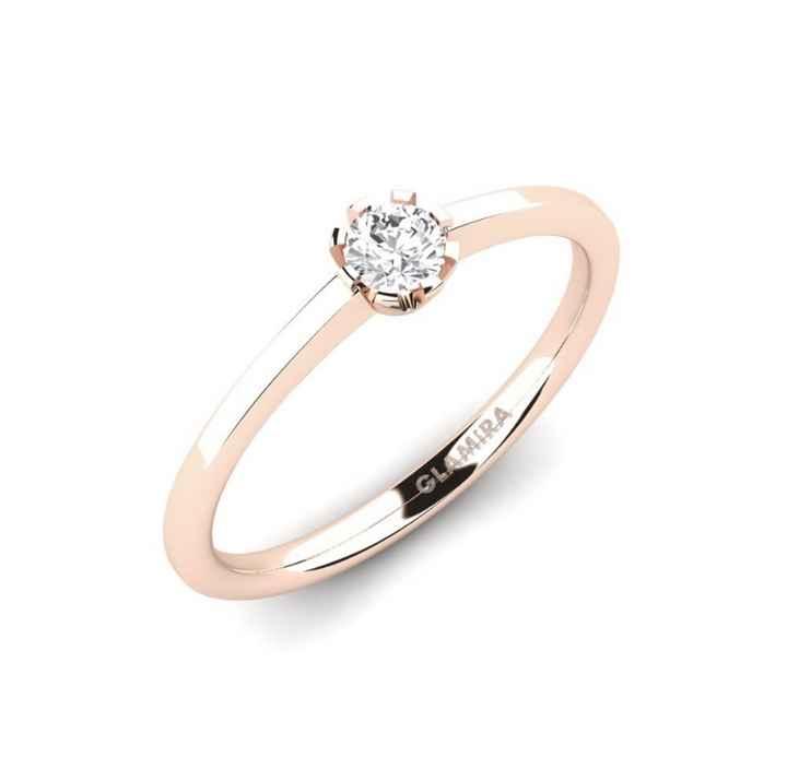 anillo de compromiso - 1