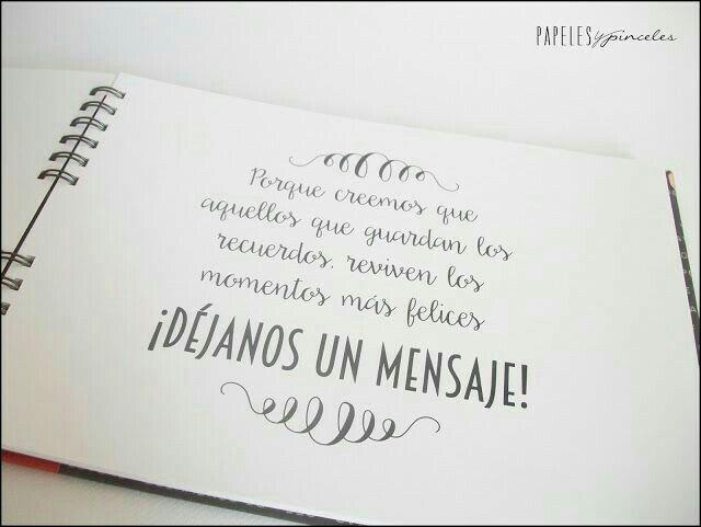 986af9236563 Ideas para libro de firmas o buenos deseos - 11