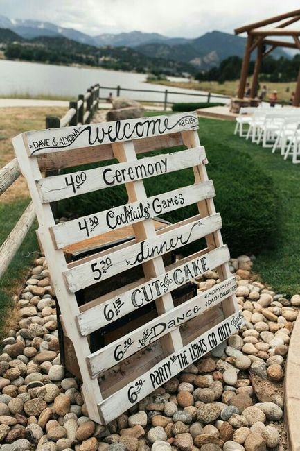 Ideas Para Matrimonio Rustico : Ideas con pallet para un matrimonio rústico