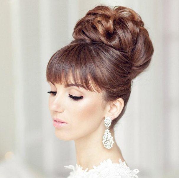 Peinados recogidos para  novia 4