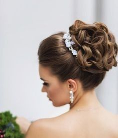 Peinados recogidos para  novia 5