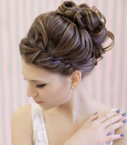 Peinados recogidos para  novia 7