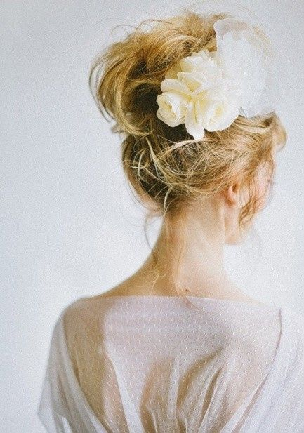 Peinados recogidos para  novia 10