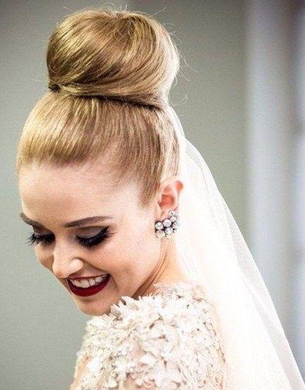 Peinados recogidos para  novia 17