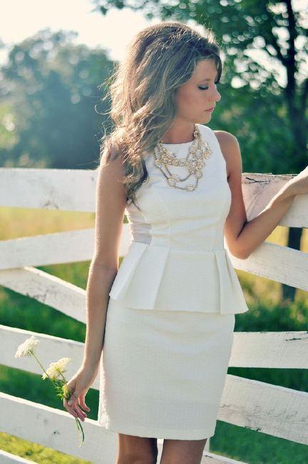 Vestidos Cortos Para Matrimonio Civil
