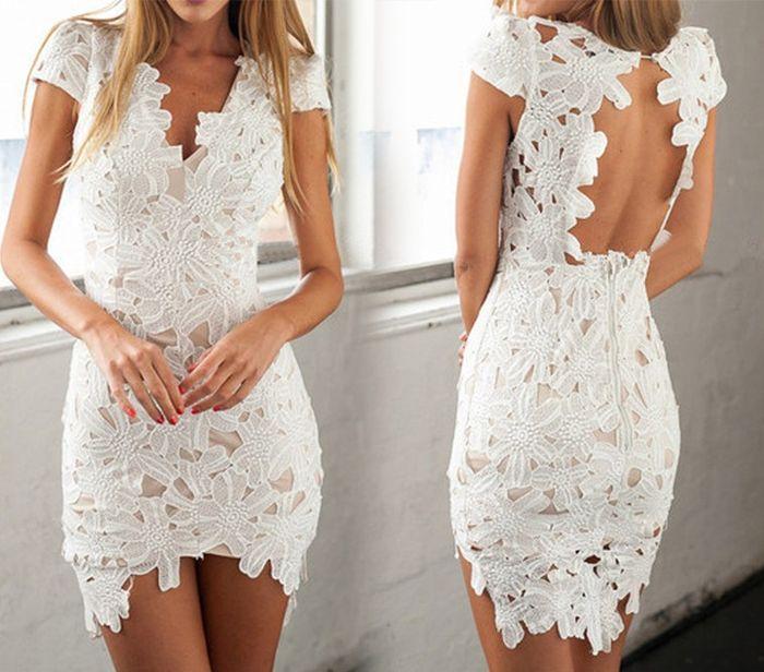 52a6b5a44ca34 Vestidos cortos para matrimonio civil 13
