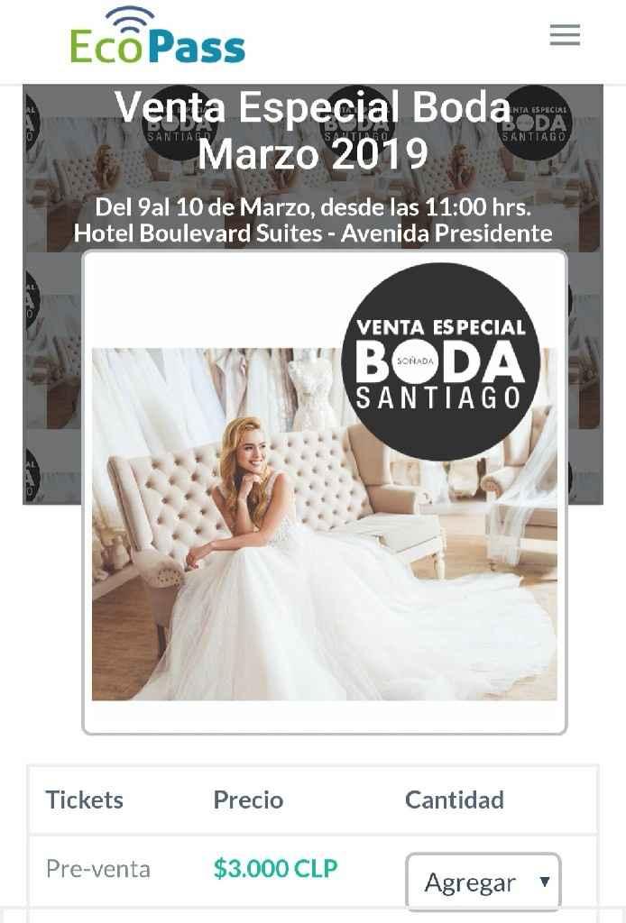 Venta especial boda Marzo 2019 - 1