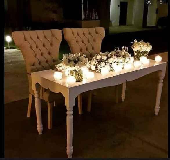 Arriendo mesas y silla para matrimonio civil - 1