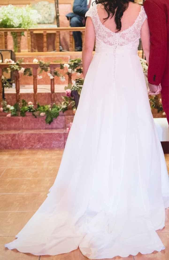 Se vende vestido de novia muy bonito - 1