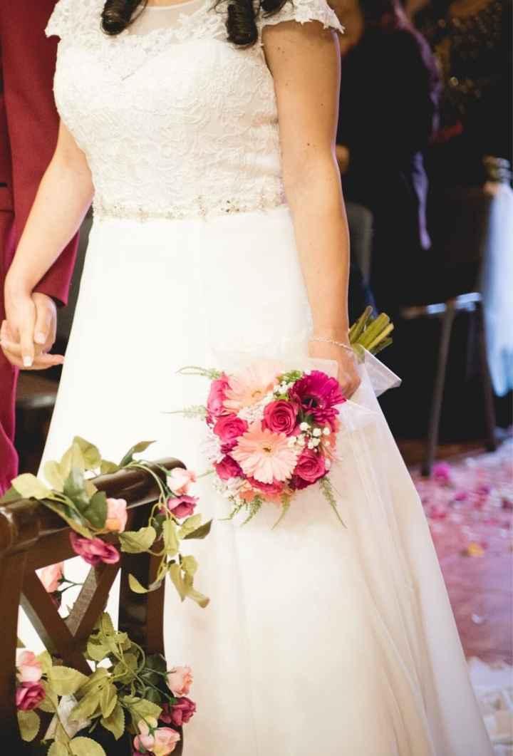 Se vende vestido de novia muy bonito - 3