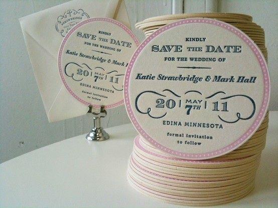 Invitaciones -save the date
