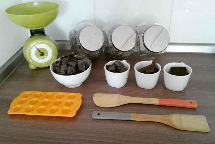 herramientas y ingredientes