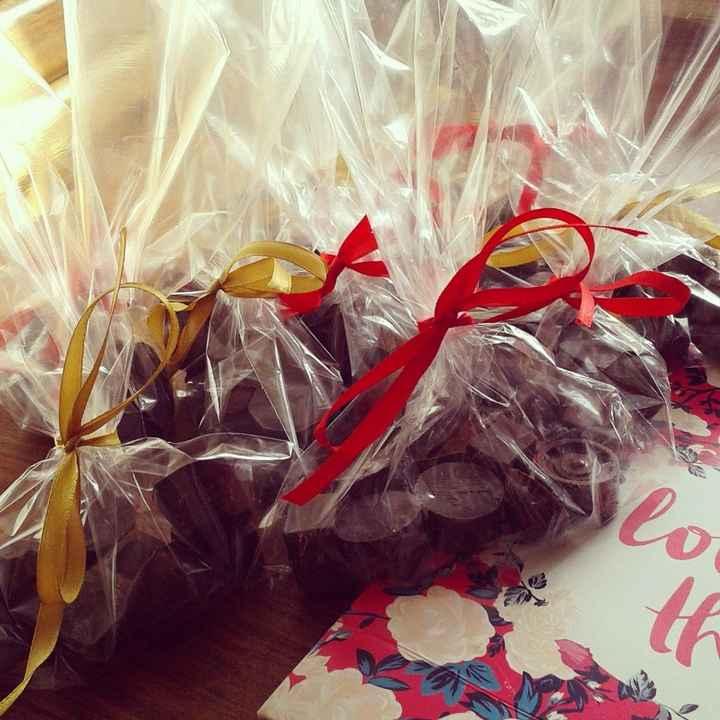 chocolates en sus bolsitas