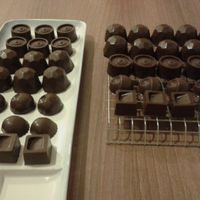 chocolates caseros listos