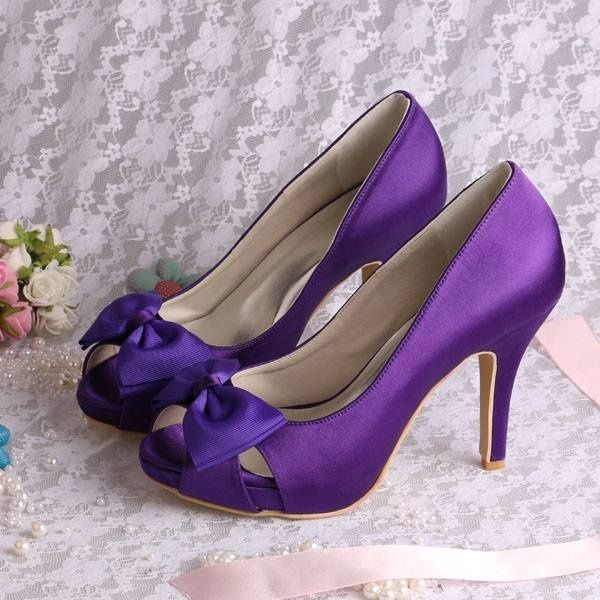 Shoes To Match Purple Dress