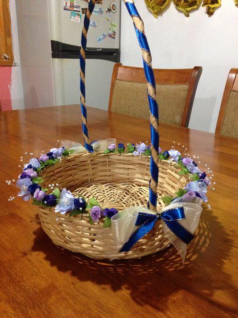 Manualidades: bolsitas y conos para el confeti y canasto 4