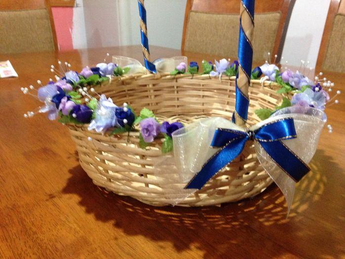 Manualidades: bolsitas y conos para el confeti y canasto 5