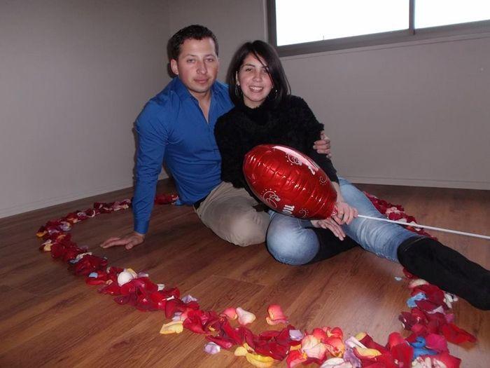 Recuerdo de la propuesta de matrimonio