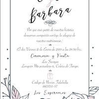 Mis invitaciones y recuerdos - 1