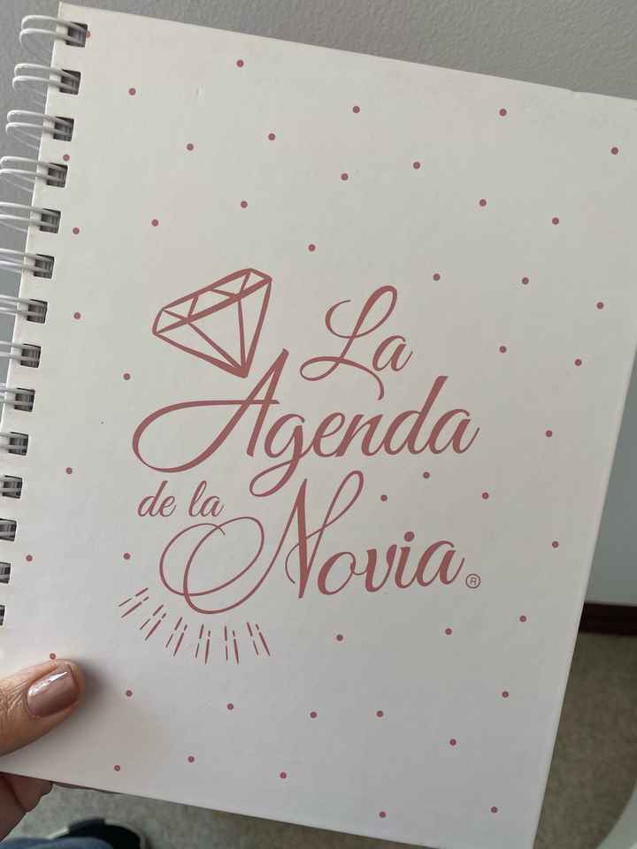 Agenda para novia - 1