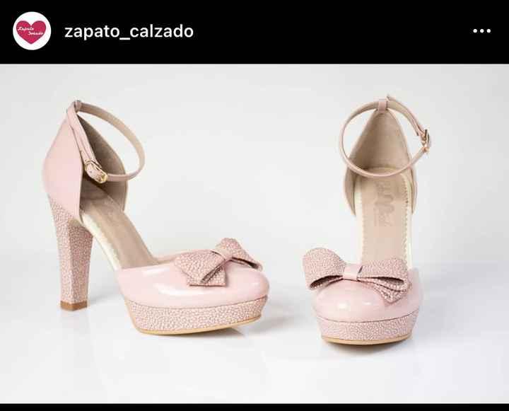 Zapatos de novia rosados - 1