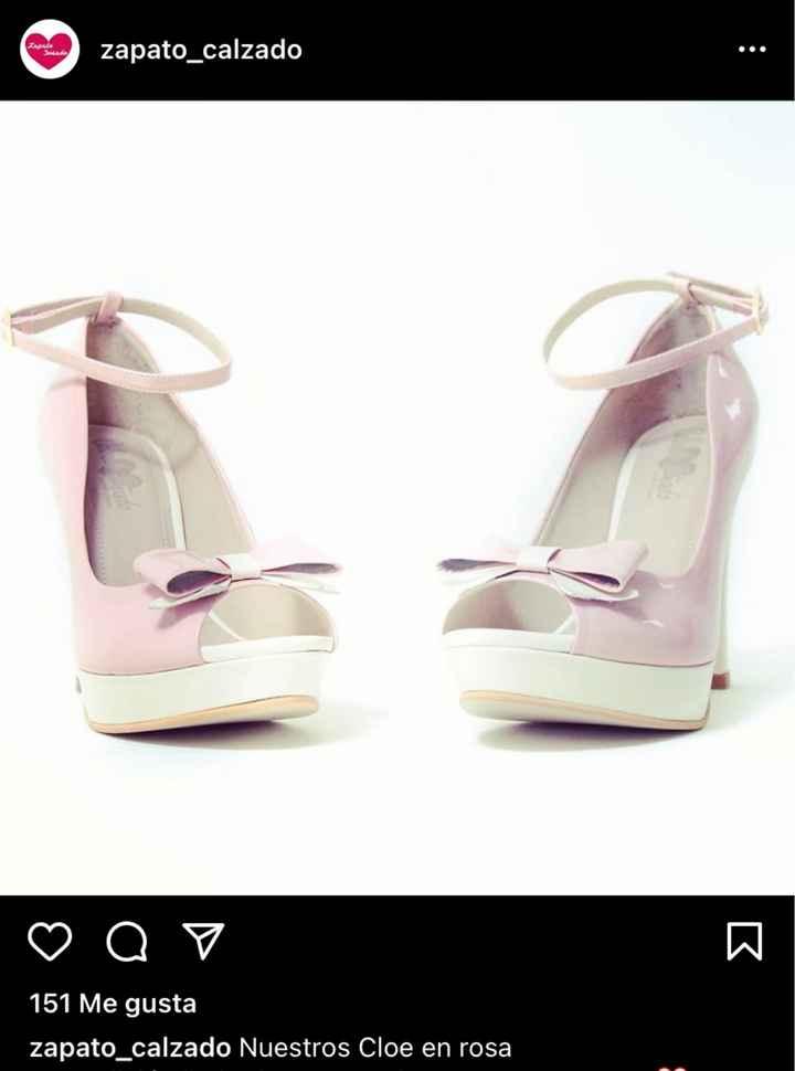 Zapatos de novia rosados - 2