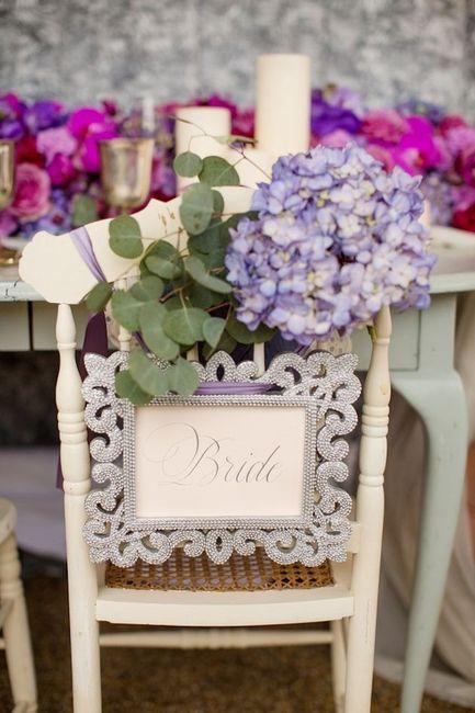 Silla para un matrimonio vintage for Sillas para matrimonio