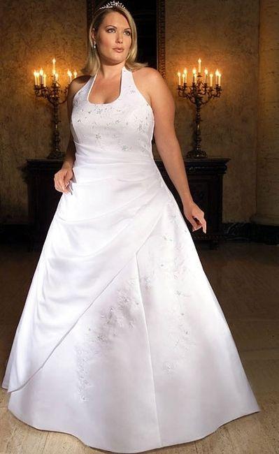 vestido de novia para novias de brazos gruesos