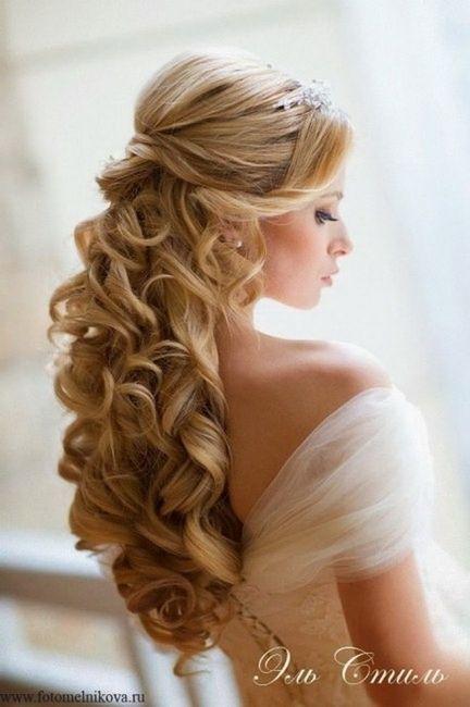 Peinados Semirecogidos De Novia Vestidos