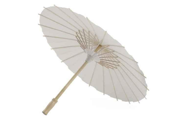 Sombrillas de papel - 1