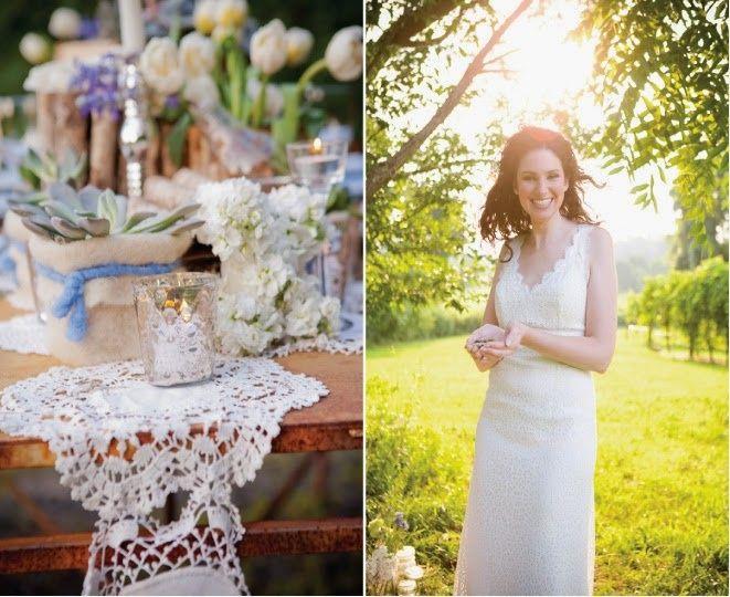 Matrimonio Rustico Santiago : Inspiración para un matrimonio rústico con encanto