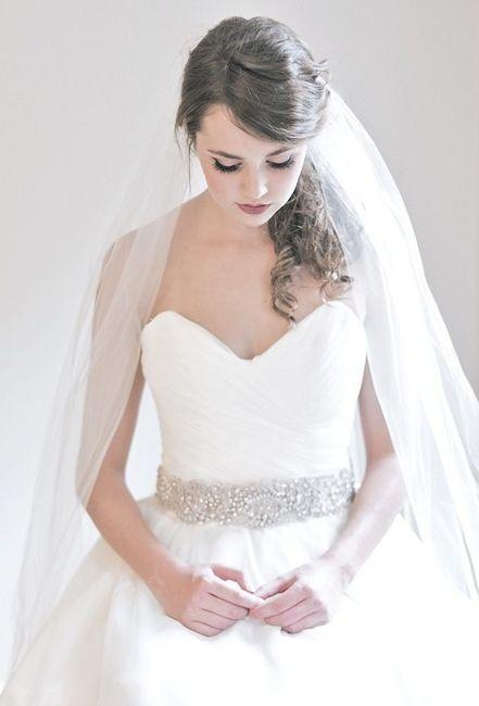 tu vestido de novia ¿con cinturón o sin?