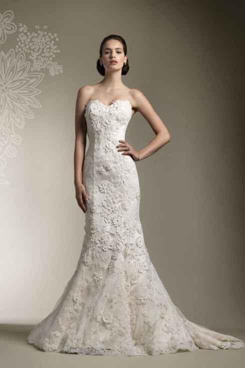 El vestido de novia: ¿Blanco, nude o color? - 1