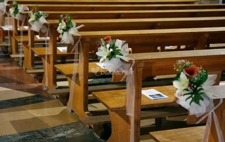 Decoración de flores iglesia - 1