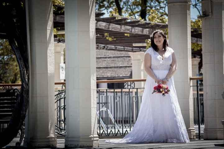 ¿Cuál es la marca de su vestido de novia? 👗 - 2