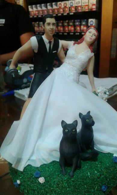 Novios de torta / figuritas creattack 2