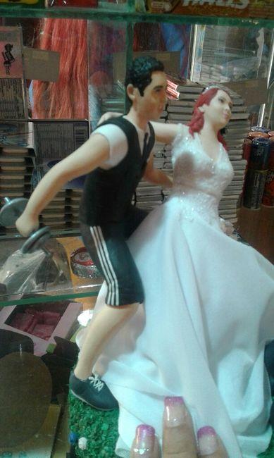 Novios de torta / figuritas creattack 3