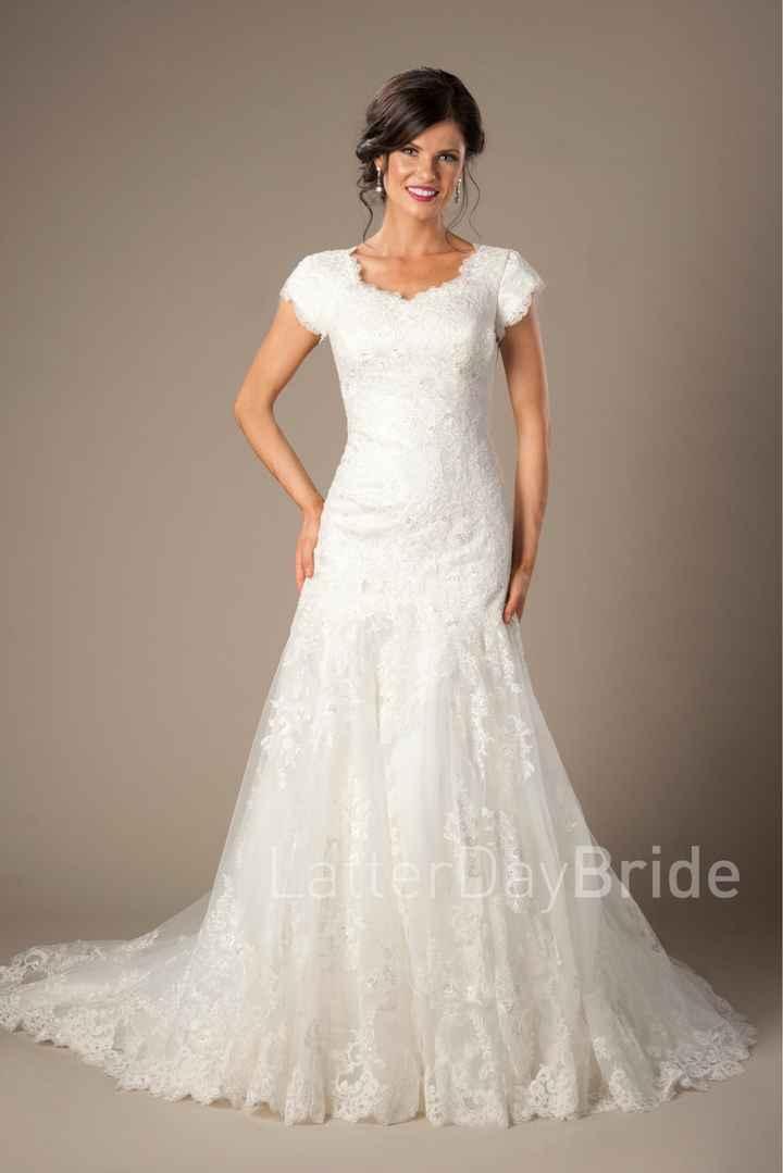 Marce, mi próxima tarea es elegir mi vestido de novia. - 1