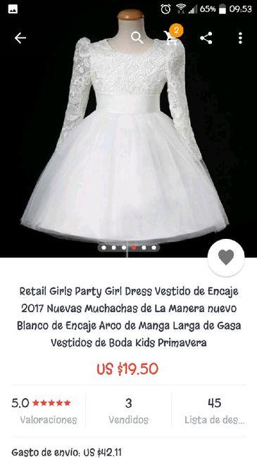Vestidos para pajes de boda chile