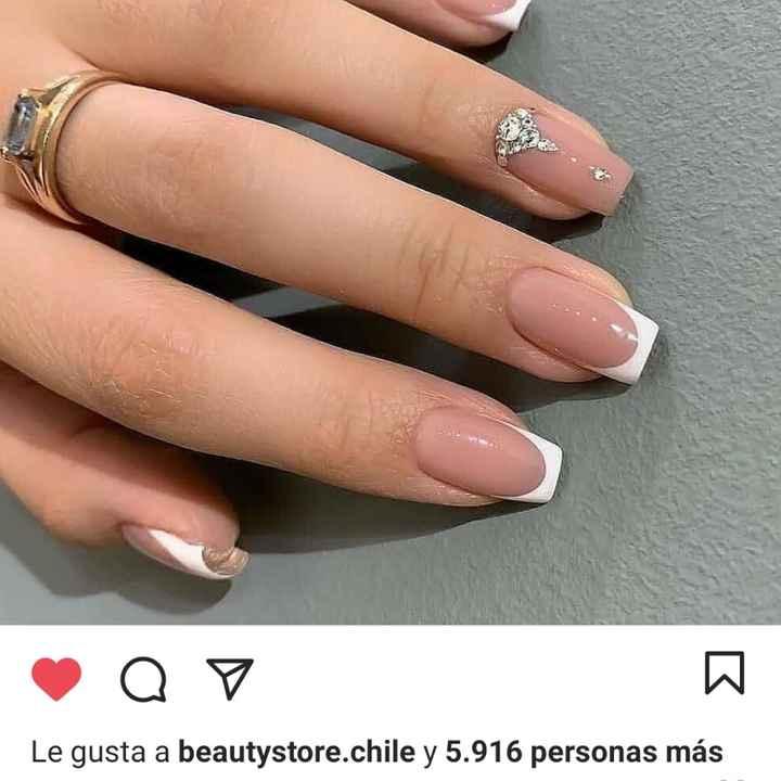 Manicure de gel: ¿Cuál usarías en tu ceremonia nupcial?💅💅 - 1