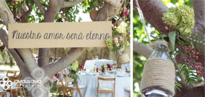 Decoraci n para matrimonio civil en casa 3 fotos for Arreglos para boda civil